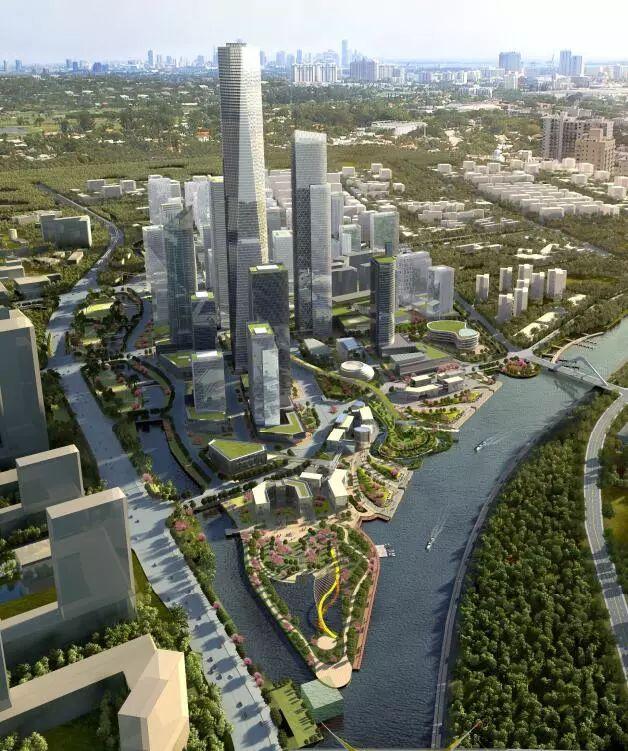 产城创投|投资超500亿元打造的中山总部经济区昨日破土动工