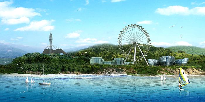 充分利用现状生态景观资源及阳江市丰富的海洋文化,形成一个以历史风貌及生态山水空间为主体的