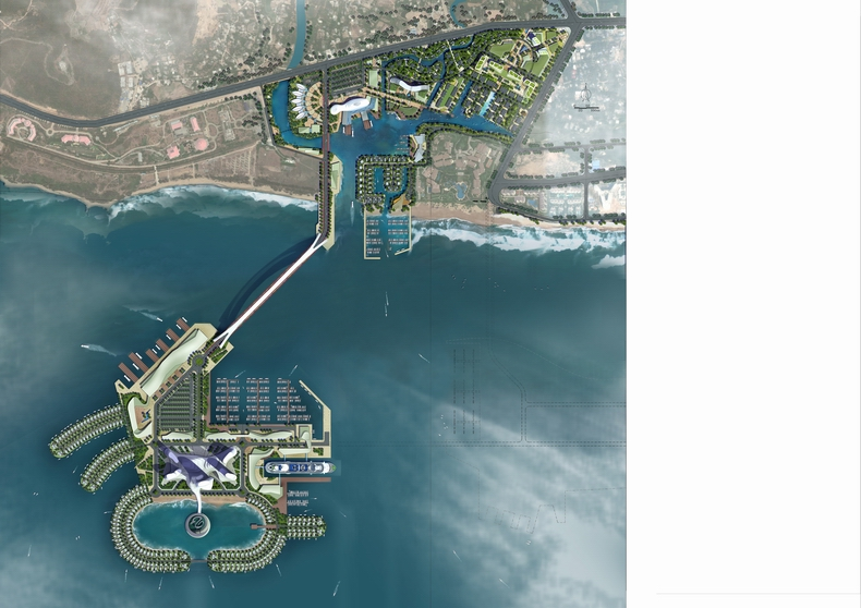 三亚肖旗港游艇大都会概念性规划