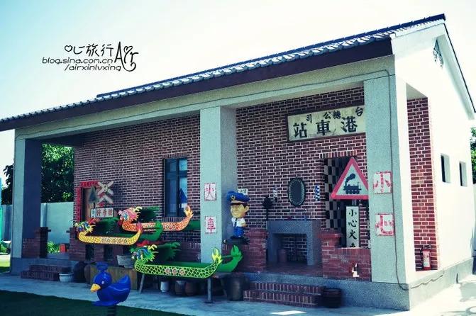 台湾鹿港小镇