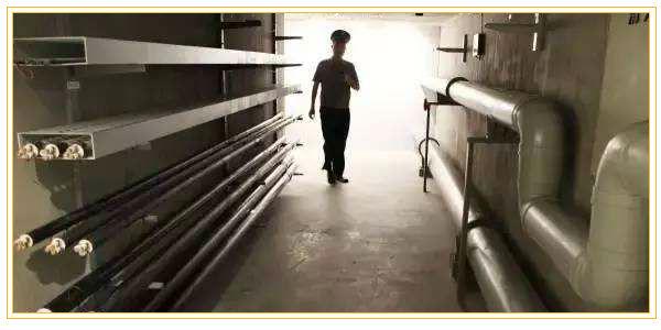 上海浦东张杨路人行道地下管廊