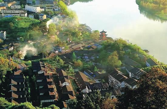 四川蓬安县